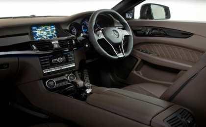 Mercedes-Benz CLS 63 AMG Shooting Spencer Hart