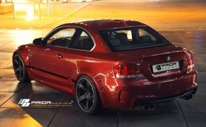 BMW 1-Series Coupe в тюнинге Prior Design