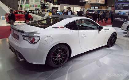 Subaru презентовал BRZ XT Line Concept