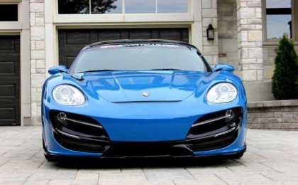 Porsche 911 Turbo «Rush» от Anibal Design
