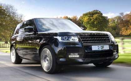 Range Rover в суперроскошном тюнинге Overfinch