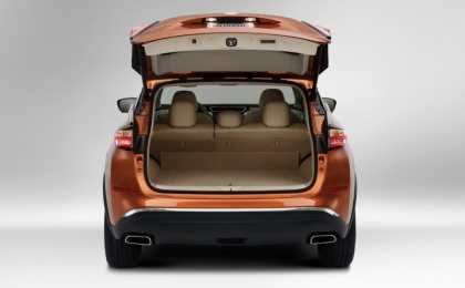 Nissan рассекретил кроссовер Murano 3-го поколения