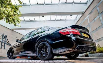 Mercedes-Benz E63 AMG в обвесе RBS II от Revozport