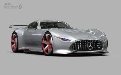 Mercedes-Benz представил AMG Vision Gran Turismo Racing Series