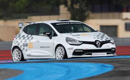 Renault анонсировал новый болид Clio Cup
