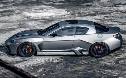 Mazda RX-8 превратилась в Blacknight Coupe