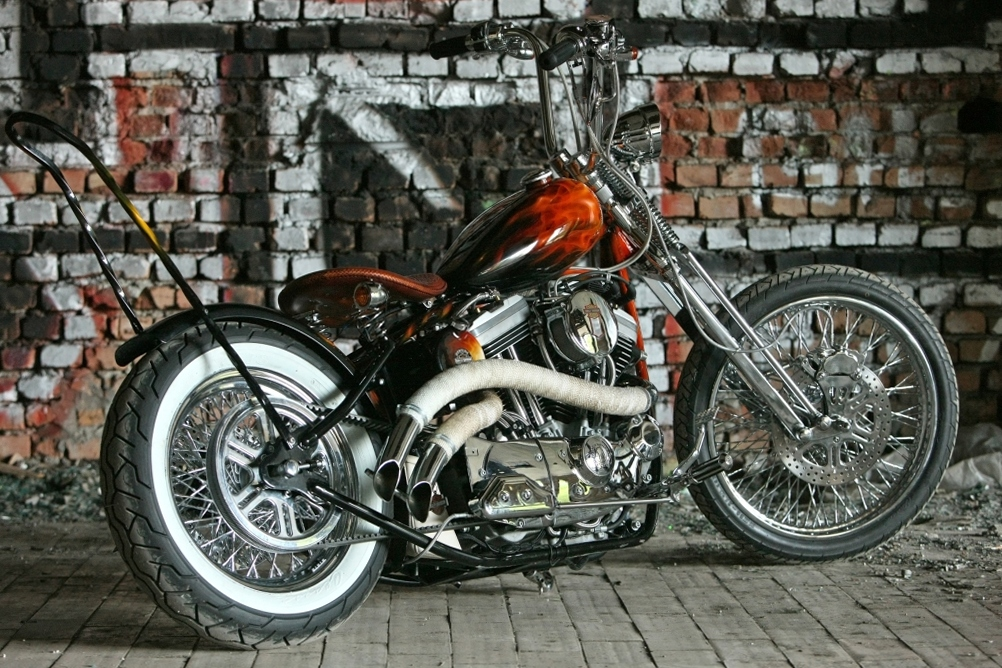Боббер - самая чистая форма мотоцикла
